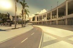Entrance to Maracana football soccer stadium in Rio de Janeiro Stock Image
