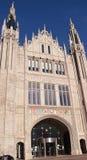 Entrance to Marischal College, Aberdeen, Scotland Royalty Free Stock Photos