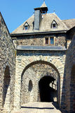 Entrance to the medieval castle of Altena Stock Image
