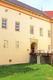 Entrance to medieval Uzhhorod Castle in Ukraine Stock Photography