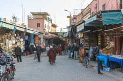 Entrance to the medina of Marrakesh Stock Photography