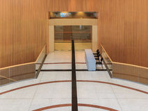 Entrance to Meeting Room Royalty Free Stock Photography