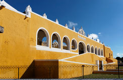 Entrance to Mexican convent Royalty Free Stock Photo