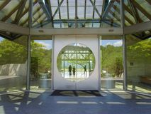 Entrance to Miho Museum, Shigaraki, Japan