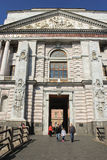 Entrance to the Mikhailovsky Castle. Royalty Free Stock Photo