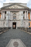 Entrance to Mikhailovsky Castle in Saint-Petersburg, Russia Royalty Free Stock Photos