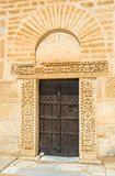 The entrance to the minaret Stock Photography