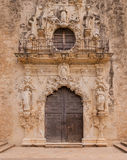 Entrance to Mission San Jose in San Antonio, TX Stock Image