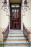 Entrance to modern house Stock Image