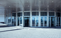 Entrance To A Modern Office royalty free stock image