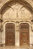 Entrance to the Monasteiro dos Jeronimos. Lisbon. Portugal Royalty Free Stock Images