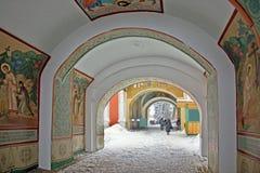 Entrance to the monastery Imagem de Stock