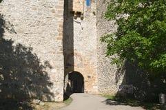 Entrance to monastery Manasija, 15th century, Serbia. Manasija  is a Serbian Orthodox monastery near Despotovac, Serbia, founded by Despot Stefan Lazarević Royalty Free Stock Photography