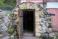 Entrance to the monastery of Savva Storozhevsky near Zvenigorod, Moscow region Stock Photo
