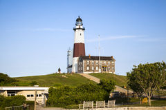 Entrance to Montauk Lighthouse Royalty Free Stock Images