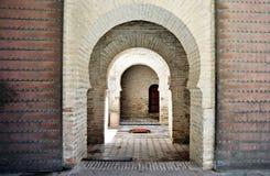 Entrance to mosque andalucia Stock Photo