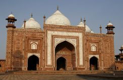 Entrance to a mosque (masjid) by Taj Mahal, India Royalty Free Stock Image