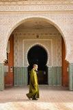 Entrance to Mosque . Ouarzazate. Morocco. Stock Photo