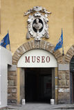 Entrance to a museum in Florence Royalty Free Stock Image
