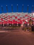 Entrance to National stadium, Warsaw, Poland Stock Image