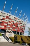 Entrance to the National Stadium in Warsaw, Poland Stock Images