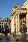 Entrance to The National Teather and Rossio Station. Lisbon. Portugal Stock Images