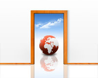 Entrance to the new world Stock Photography