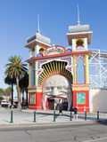 Entrance to the Old amusement park, Melbourne Royalty Free Stock Image
