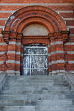 Entrance to an old building in Sweden Royalty Free Stock Photography
