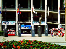 Entrance to Old Busch Stadium, St. Louis, MO Stock Image