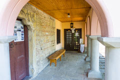 Entrance to the old church in Lovech, Bulgaria Royalty Free Stock Images