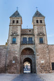 Toledo city gate Stock Photography