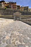 Entrance to old fortified centre of Briançon Royalty Free Stock Photography