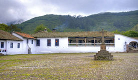 Entrance to an old hacienda Royalty Free Stock Photos