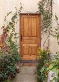 Entrance to the old house Stock Photography