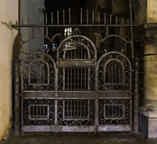 Entrance to the Old Jewish Cemetery in Prague. Royalty Free Stock Images