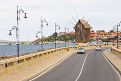 Entrance to the old Nessebar in Bulgaria Royalty Free Stock Images
