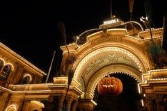 The entrance to the old Tivoli Park royalty free stock photos