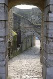 Entrance to Old Town of Boulogne. France Royalty Free Stock Image