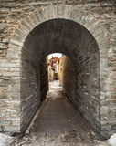 Entrance to the old town, Tallinn, Estonia Stock Images