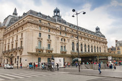 Entrance to the Orsay Museum in Paris, France Royalty Free Stock Image