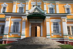 Entrance to orthodox church Royalty Free Stock Image