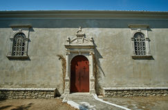 Entrance to the Orthodox church Royalty Free Stock Images
