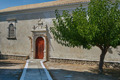 Entrance to the Orthodox church Stock Images