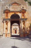 Entrance to the Orthodox monastery Stock Images