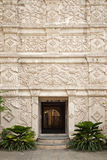 Entrance to palace in solo indonesia Stock Image