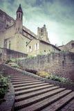 Entrance to Palais de la Berbie Gardens at Albi, France Stock Image