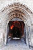 Entrance to Palais des Papes Stock Photography