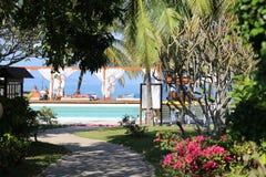 The entrance to Paradise Royalty Free Stock Photos
