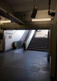 Entrance to Paris subway Stock Photos